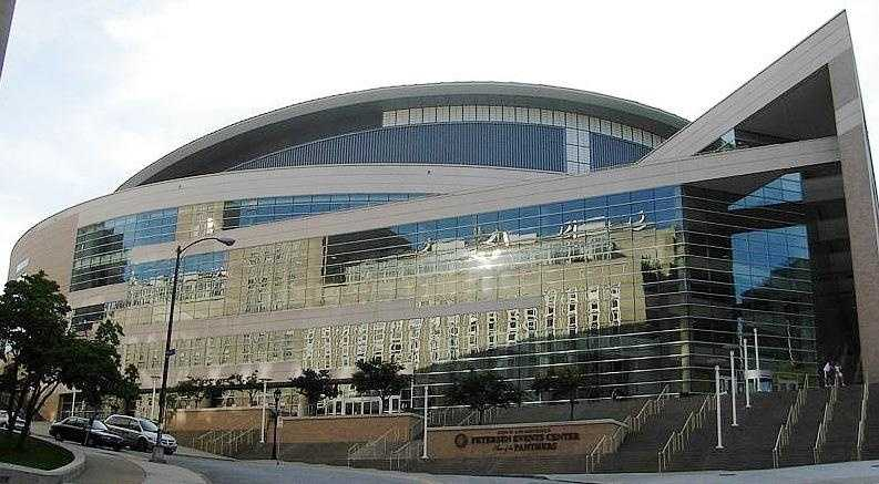 …and the Petersen Events Center.