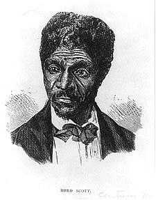 4. Dred Scott v. Sandford (1857): A slave in Missouri, Dred Scott lived in Illinois, an area of the Louisiana Territory where slavery was forbidden. When he returned to Missouri, he sued unsuccessfully for his freedom and claimed his residence in a free territory made him a free man.