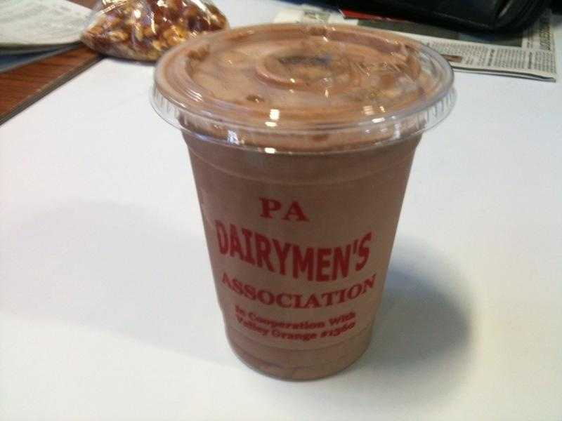Milkshake Madness: It wouldn't be the PA Farm Show without a trip to the PA Dairymen stand to get a milkshake. Have your pick of vanilla, chocolate, or vanilla-chocolate mix....or all three! But be prepared to stand in line. This is a farm show staple.