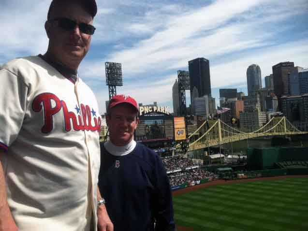 News 8's Joe Calhoun and Brian Roche were are at the game in Pittsburgh.