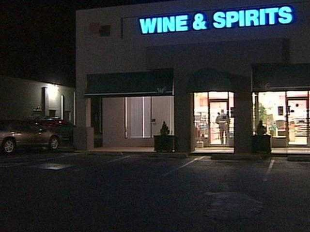 Police are looking for a man who robbed a Wine and Spirits store in East Hempfield Township, Lancaster County, on Monday night.