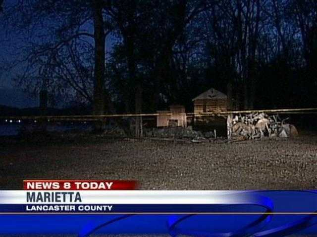 A state police fire marshal is investigating a blaze at the Marietta boathouse in Lancaster County.