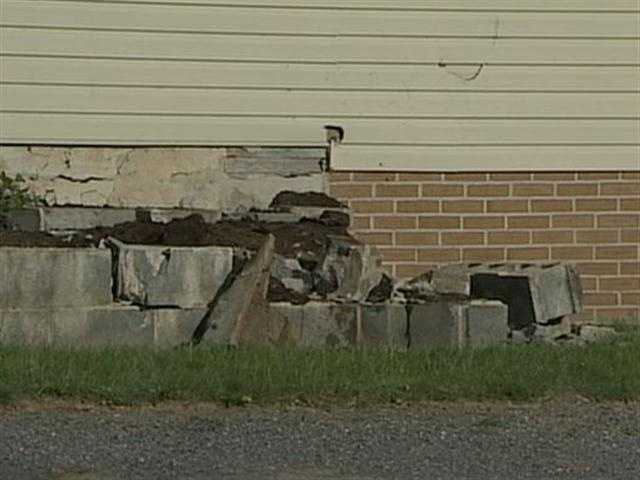 The crash happened in the 1500 block of Rothsville Road about 4:30 p.m. Wednesday.