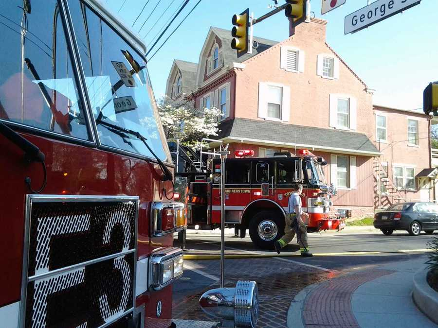 A malfunctioning furnace motor generated smoke inside a Millersville University building on Friday morning.