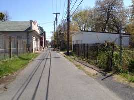 A 23-year-old man was fatally shot in the back near this street in Harrisburg on Thursday, April 12 around 8 p.m.