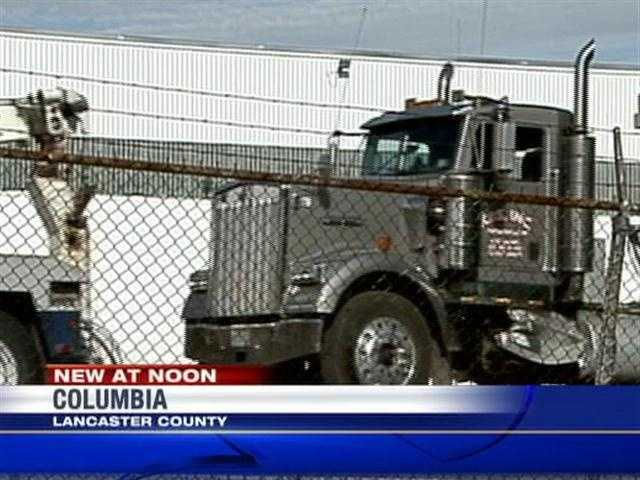 Hazardous materials crews spent the morning cleaning up a fuel spill in Columbia, Lancaster County.