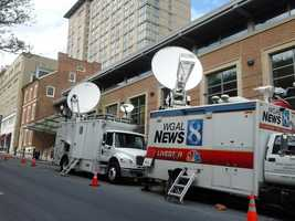 News 8 will have coverage of the evening's proceedings.