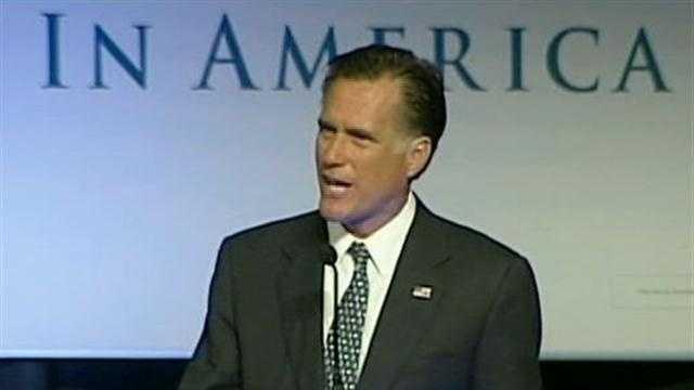 Mitt Romney in Lancaster