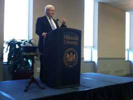 """There are, I think, 63,000 new jobs in western Pennsylvania developing natural gas. The explosion of opportunity in natural gas is so enormous,"" Gingrich said."