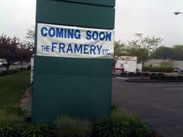 In June, an armed man robbed The Framery's Fruitville Pike store.
