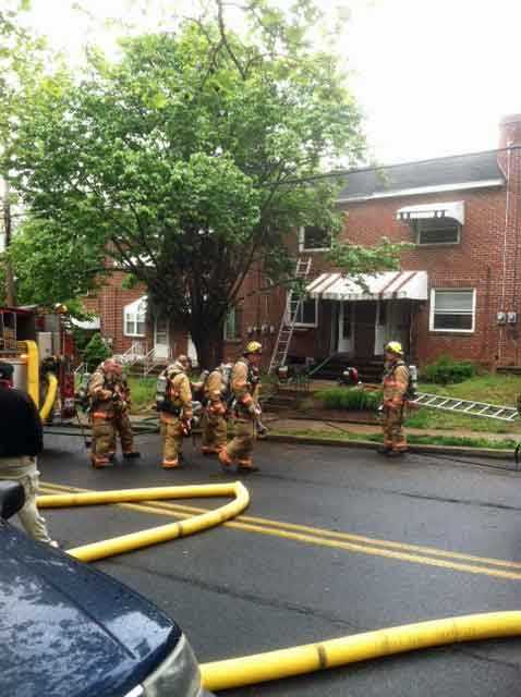 Fire crews were called to a home in the 900 block of Union Street in Lancaster on Monday morning. Firefighters rescued a dog and treated the animal for smoke inhalation. No people were inside at the time.