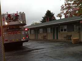 About 20 residents were evacuated.