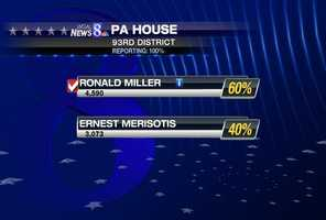 In York County's 93rd state House district, the Republicans nominated Ronald Miller. He will face Democrat Linda Small in November.
