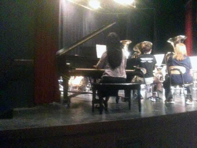 Lebanon High School is raising money to restore its Steinway piano.