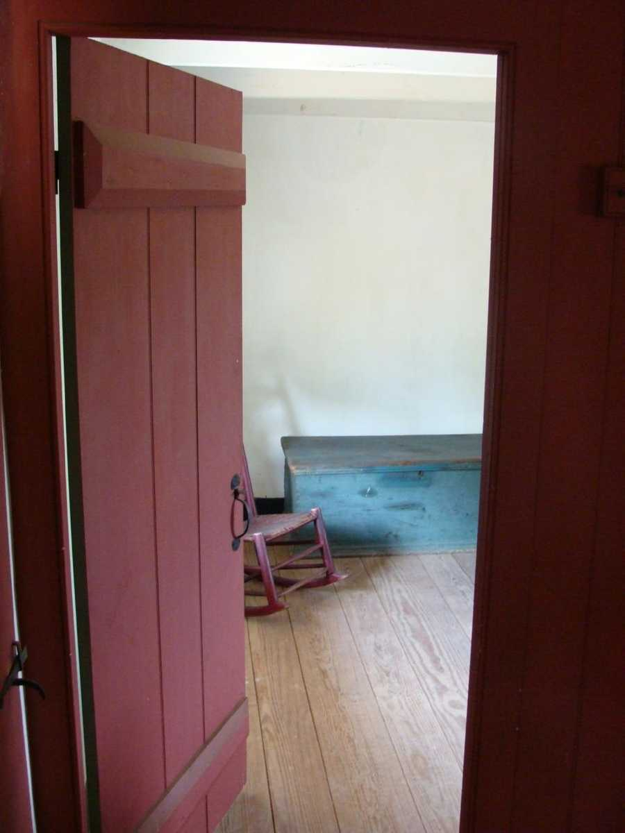 This door leads into the second room, Brian's bedroom.