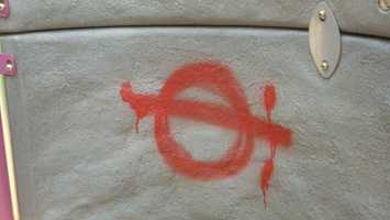 Graffiti was discovered Friday morning at Spring Run Acres and Mt. Allen parks.