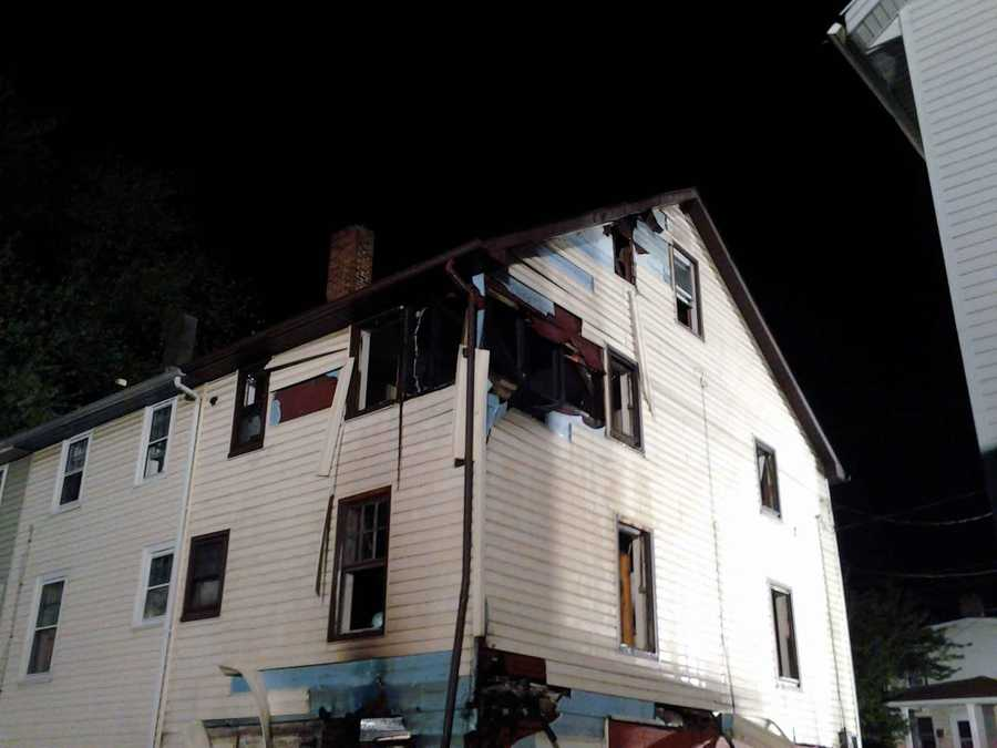 The blaze was discovered about 2:15 a.m. in the basement of a home in the 2000 block of Broad Street. No one was hurt.