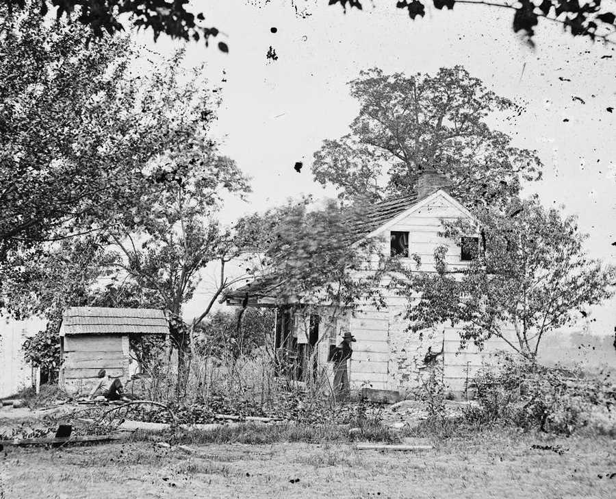 Here's a look at the farm as it was in 1863.