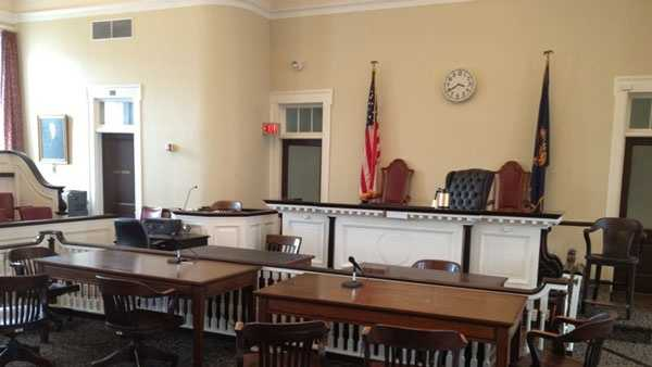 This is the Bellefonte courtroom where Jerry Sandusky's fate will be decided.