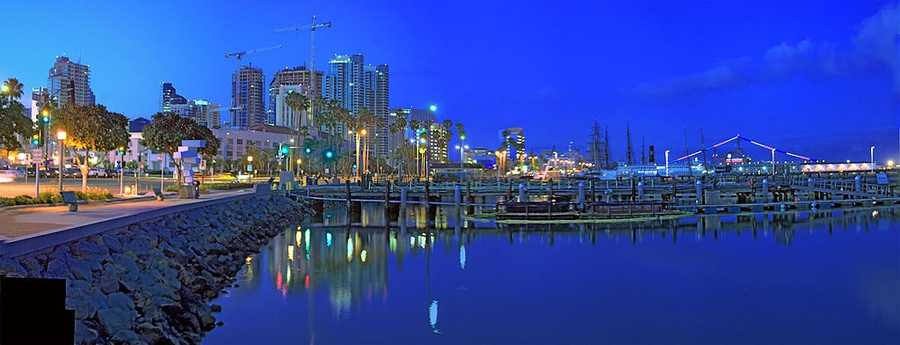 13. San Diego, California: The birthplace of California, San Diego is renowned for its idyllic climate, 70 miles of beaches, and an array of family attractions. The city also boasts the historic mining town of Julian, as well as opportunities for hiking, camping, and fishing.