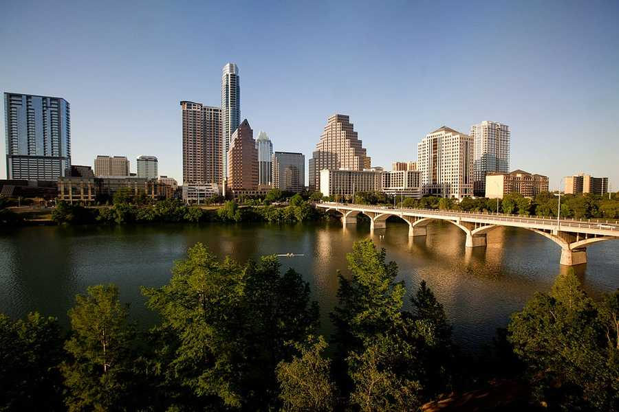 """23. Austin, Texas: The capital of Texas includes a diverse mix of Austinites who have adopted the unofficial slogan """"Keep Austin Weird"""" in recent years."""