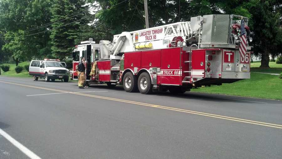 Firefighters confirm they were called to a fire at the home about nine months ago.