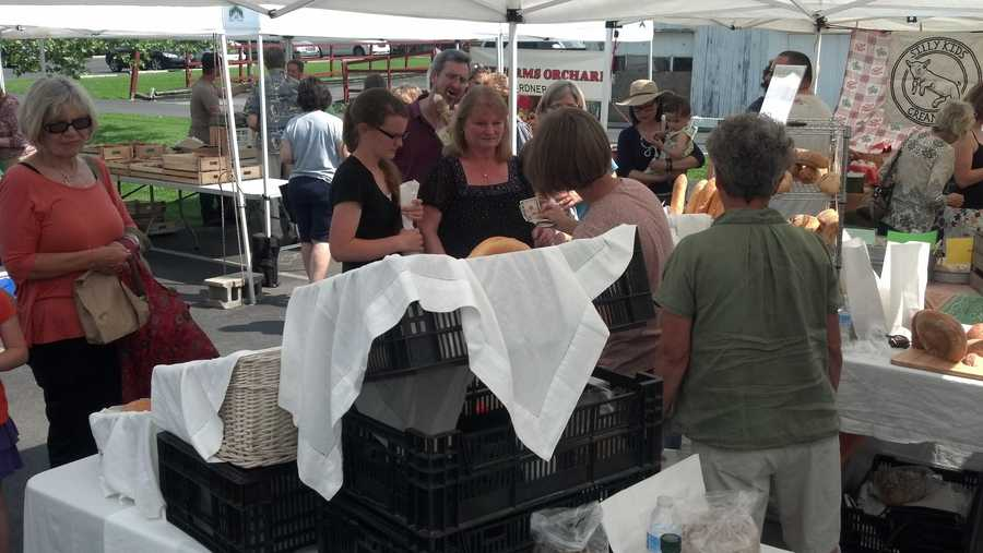 Market hours will be every Thursday from 3-7 p.m. throughout the growing season.