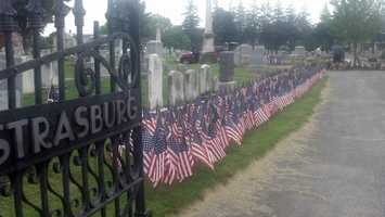 A Memorial Day tradition that began in 2003 following the start of the Iraq War continued Friday in Lancaster County.