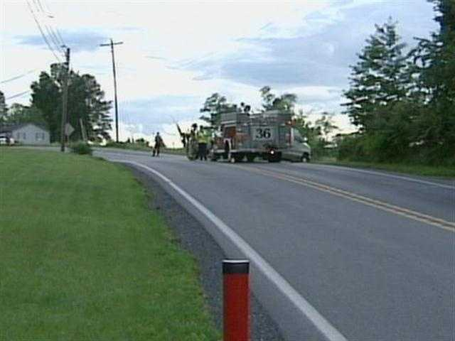 A teenager was struck and killed by a car Monday afternoon in Cumberland County.