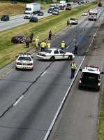 A 67-year-old man was killed in a crash on 283 in Dauphin County on Wednesday morning.