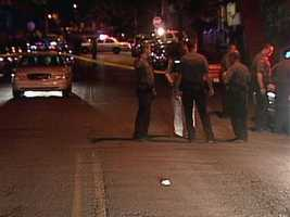 Investigators were called to the 600 block of East End Avenue at about 11:19 p.m. Wednesday for a report of a shooting.