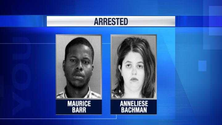 June 8:A father and mother, Maurice Barr, 24, and Anneliese Bachman, 22,face aggravated assault charges after police said they hurt their 7-week-old son.Investigators said they are accused of hurting the child several ways, including squeezing his chest and throwing him several feet during an argument.