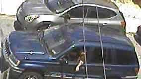 Lancaster police released this photo of the SUV suspected in the hit-and-run.