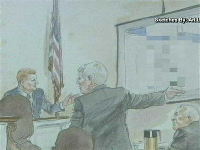 "The defense tried to poke holes in McQueary's testimony and pounced on the fact that the date of the alleged shower incident was a different year from what McQueary said in his testimony. McQueary's response was, ""I saw something horrific, that's why it stuck in my mind. I recall a lot of things in my life that are very clear and vivid and I don't remember the dates of them, sir."""