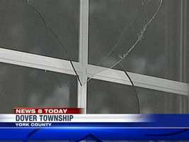 Four teens from Dover were arrested in connection with vandalizing a new building.