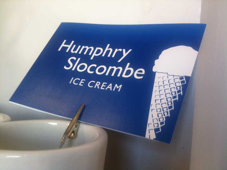 GOVERNMENT CHEESE: Humphry Slocombe offers a variety of unique ice cream flavors in San Francisco's Bay Area, but government cheese flavor could be the most questionable.