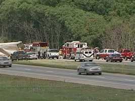 A fatal seven car pileup happened along Interstate 81 Sunday.