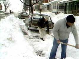 The storm hit Feb. 11 and 12, in the Susquehanna Valley. Two feet of snow fell.