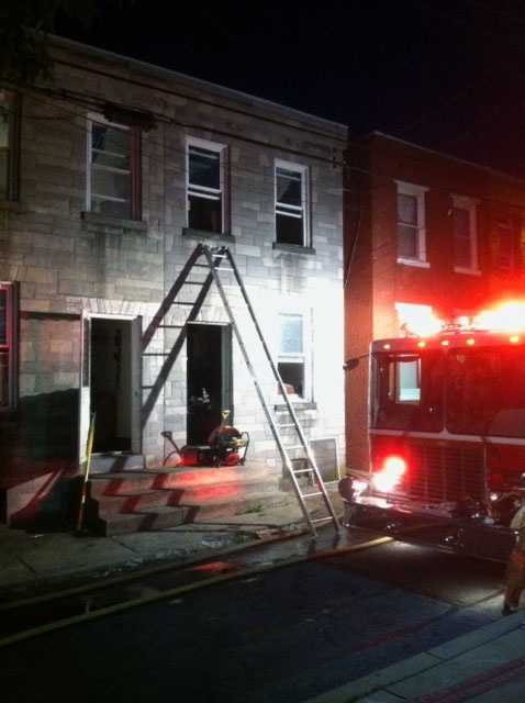 The fire, which started in a storage area, has been ruled accidental and was caused by an electrical issue.The American Red Cross is helping the five displaced residents.