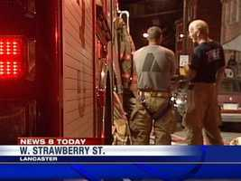 Lancaster firefighters were called to two fires early Thursday.