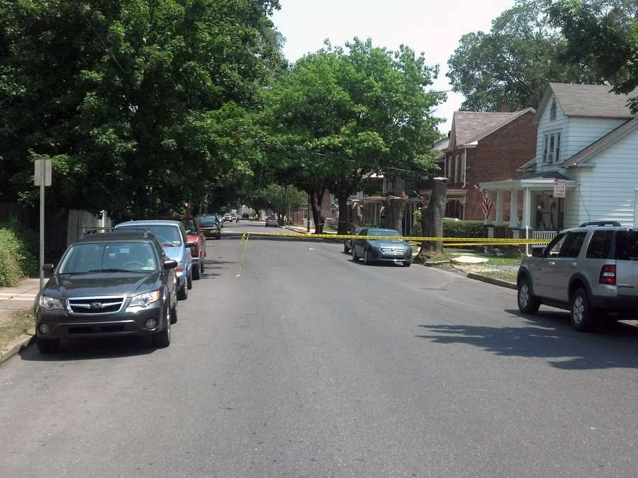 A 26-year-old man was shot Thursday afternoon in Carlisle.