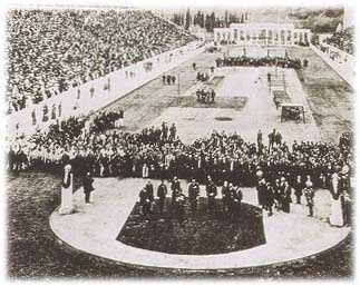 1896 - Athens, Greece: Athens was the first international Olympic Games held in the modern era. Because Ancient Greece was the birthplace of the Olympics, Athens was an appropriate choice to host the inaugural Games.