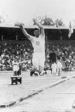 1912 - Stockholm, Sweden: The 1912 Games were the first to have art competitions (i.e. architecture and painting), women's diving and swimming. It was also the first to feature the decathlon and pentathlon, both of which were won by Pa. native Jim Thorpe (pictured).