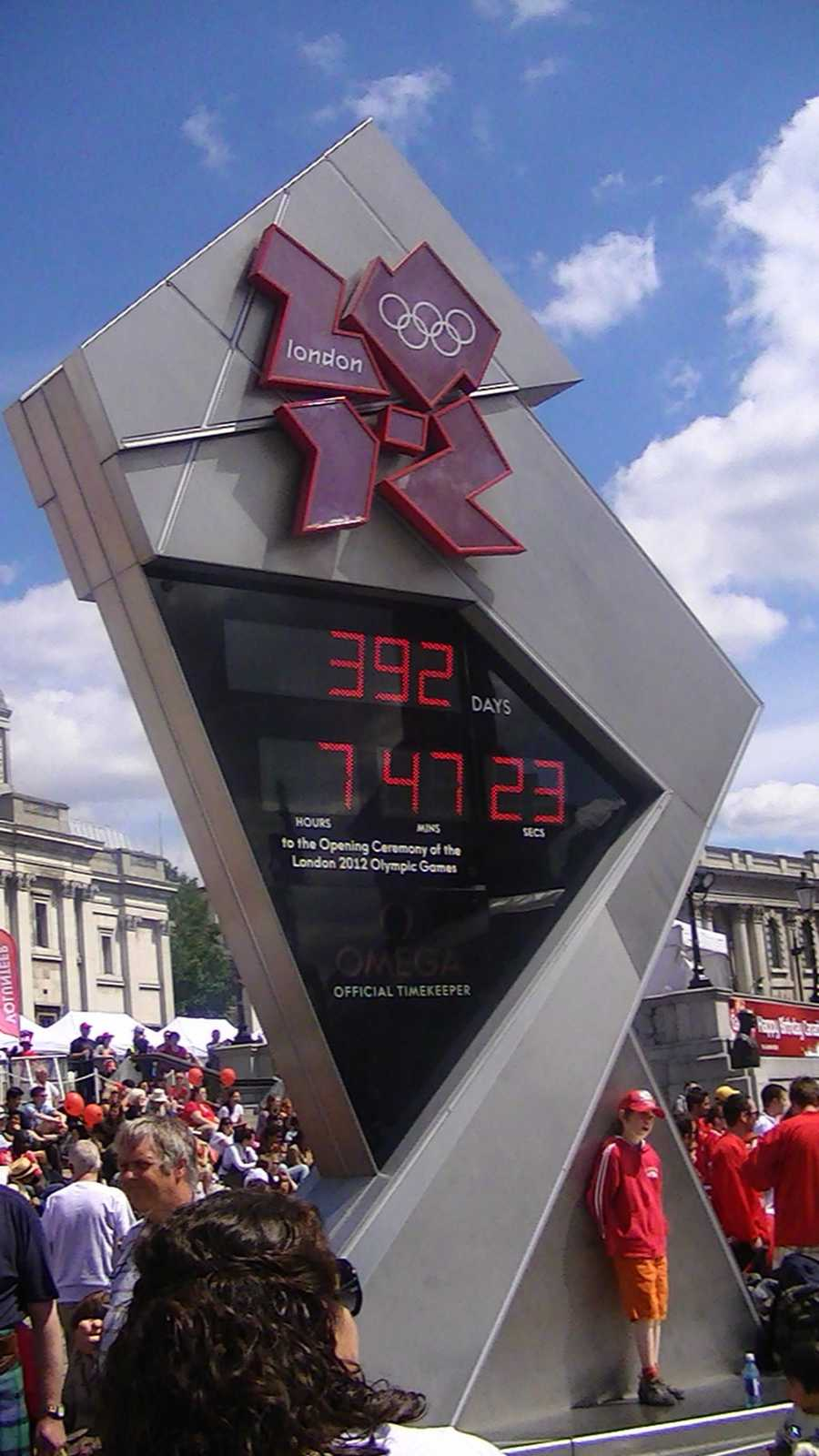 2012 - London, England: The 2012 Summer Olympic Games will take place in London, making it the first city to officially host the modern Olympic Games three times.