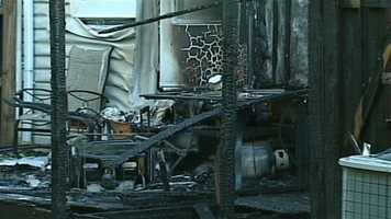 No damage estimate was immediately available. The cause of the blaze remains under investigation.