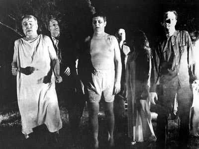 In movies, shows and literature, zombies are often depicted as being created by an infectious virus, which is passed on via bites and contact with bodily fluids. Harvard psychiatrist Steven Schoolman wrote a (fictional) medical paper on the zombies presented in Night of the Living Dead,referringt to the condition as Ataxic Neurodegenerative Satiety Deficiency Syndrome caused by an infectious agent.