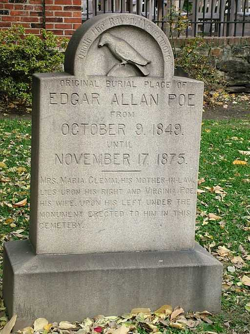 Poe was found delirious on the streets of Baltimore, was taken to a nearby hospital, and died four days later. He was never coherent enough to explain his condition. The local newspaper cited his death was alcohol poisoning, but scholars discovered later that Poe's problems with drugs and alcohol were exaggerated.