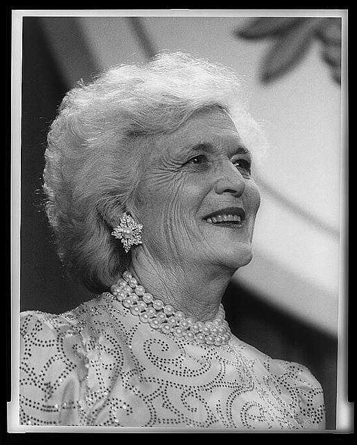 1989-1993: Barbara Bush called working for a more literate America the most important issue when she was First Lady. She became Honorary Chairman of the Barbara Bush Foundation for Family Literacy, and was a strong advocate of volunteerism.