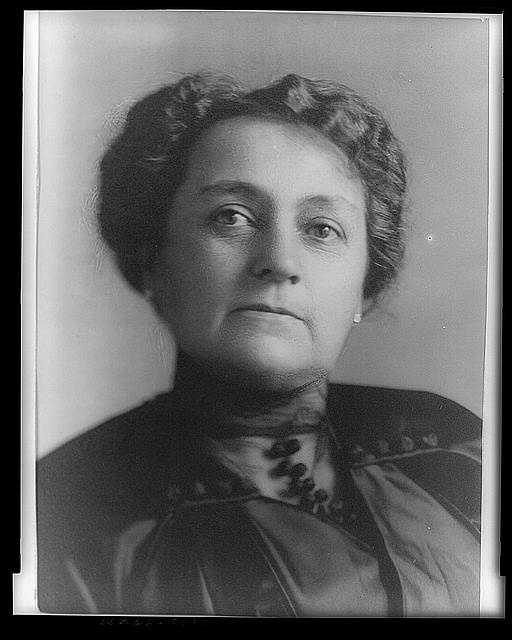 1889-1893: Caroline Lavinia Scott Harrison lent her prestige of First Lady to the founding of the National Society of the Daughters of the American Revolution. She took a special interest in the history of the White House and carried out her duties with the mature dignity.