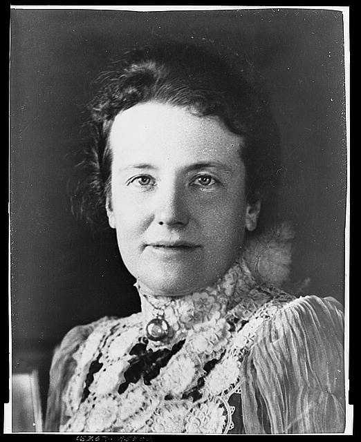 1901-1909: Edith Kermit Carow Roosevelt steered the White House as the social center of the land during her husband's administration. Beyond the formal occasions, smaller partied brought together distinguished men and women from varied walks of life.